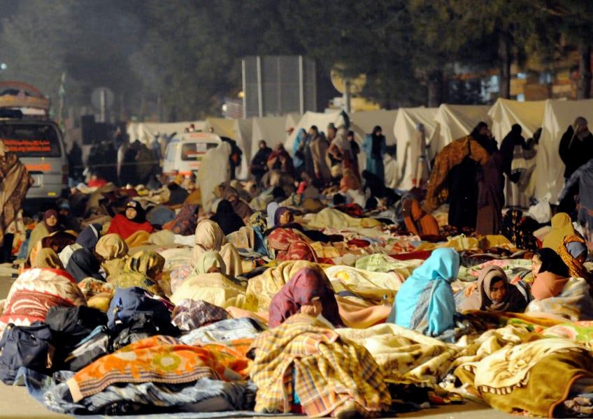 Pakistan rest protesters