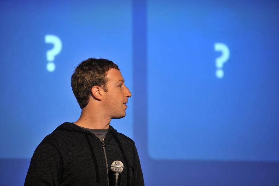 Facebook Zuckerberg questions