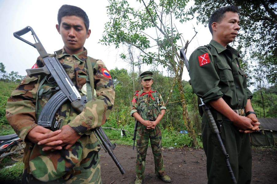 kachin army myanmar