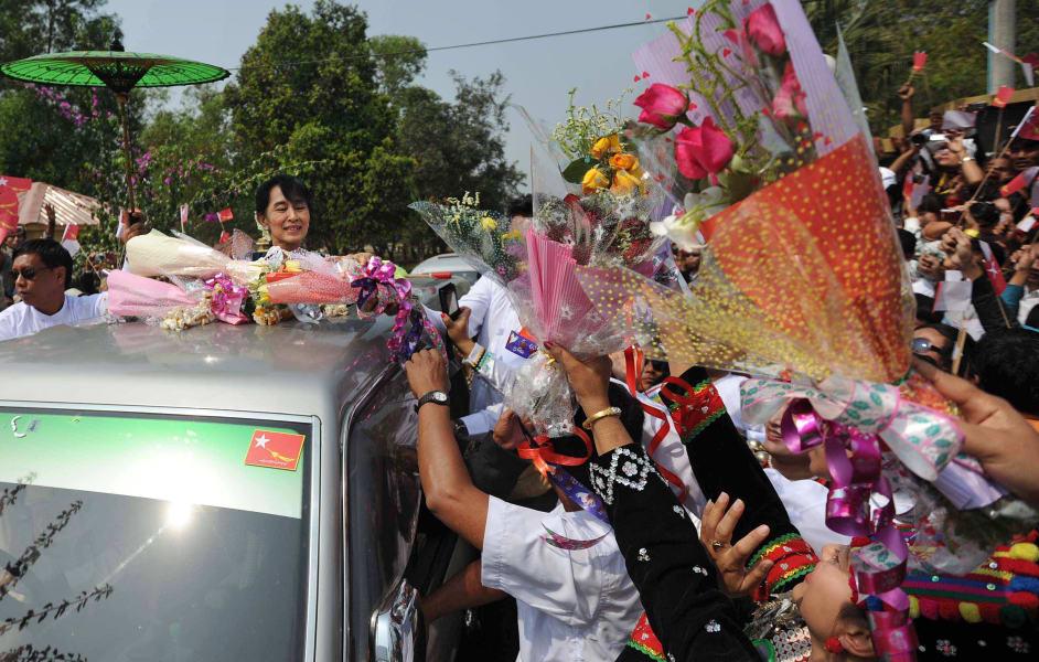 kachin suu kyi myanmar