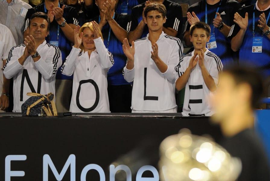 Novak Djokovic Family Photos | Parents, Brother, Wife, Son ... | 600x895