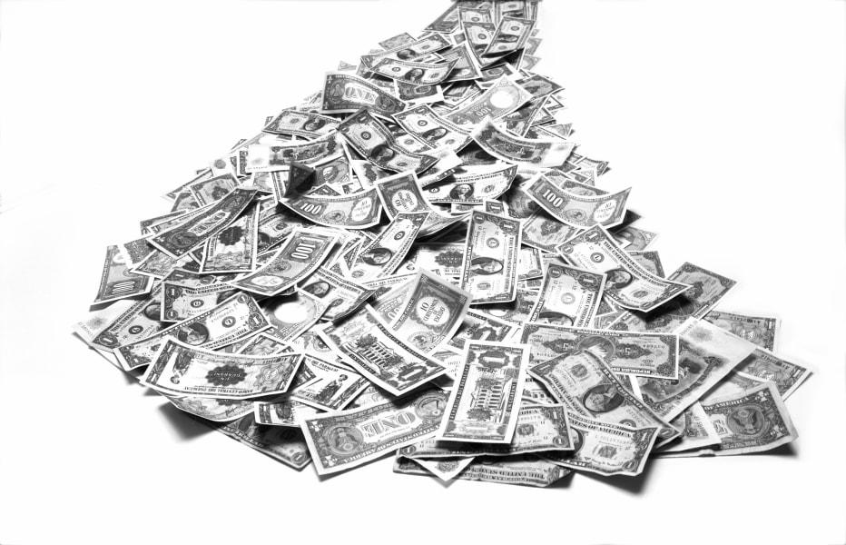 C2 pile of money