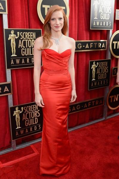 sag 2013 Jessica Chastain