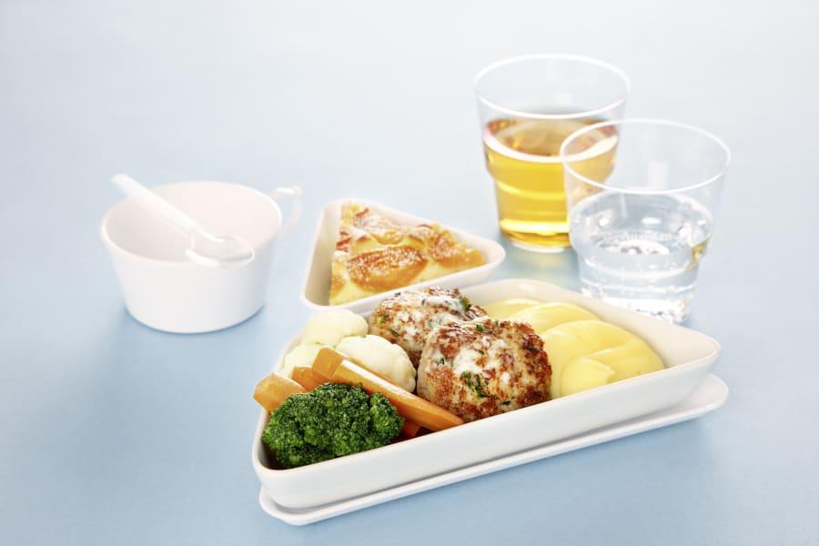 Business Traveller Austrian Airlines food