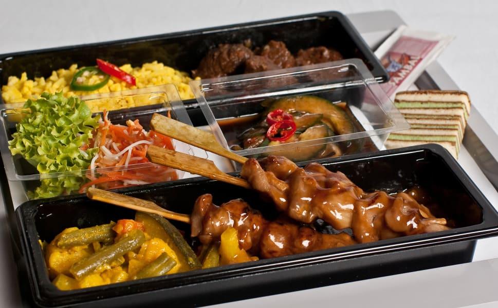 Business Traveller KLM Airline food