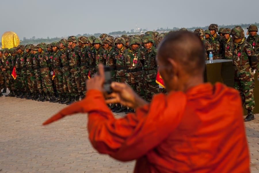 cambodia king funeral procession 9