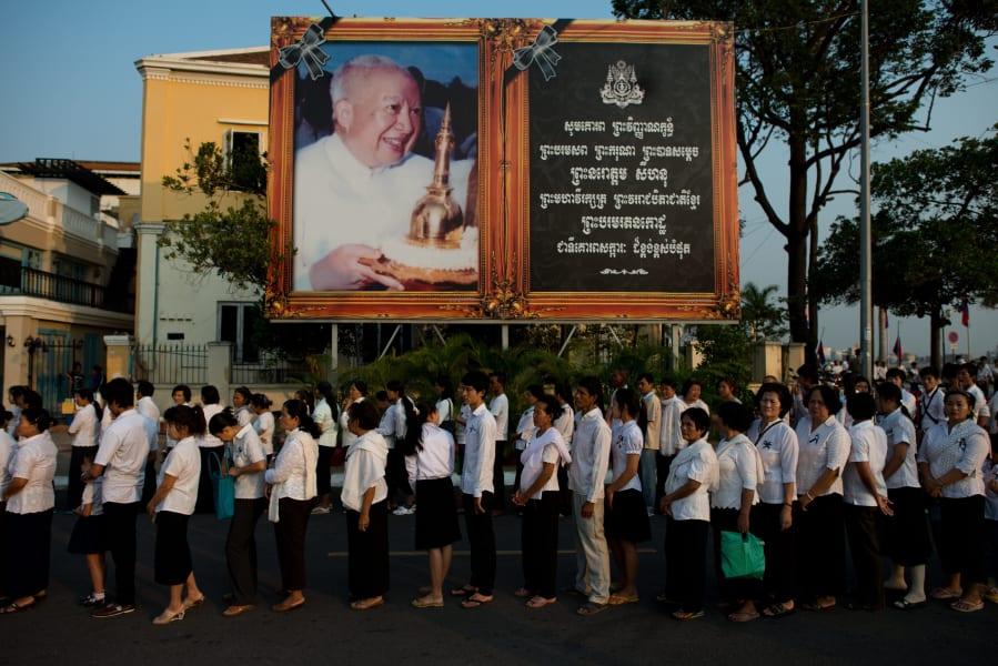 cambodia king cremation 4