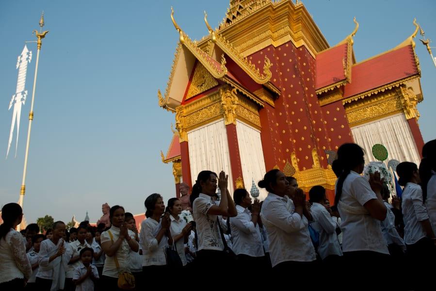 cambodia king crematorium
