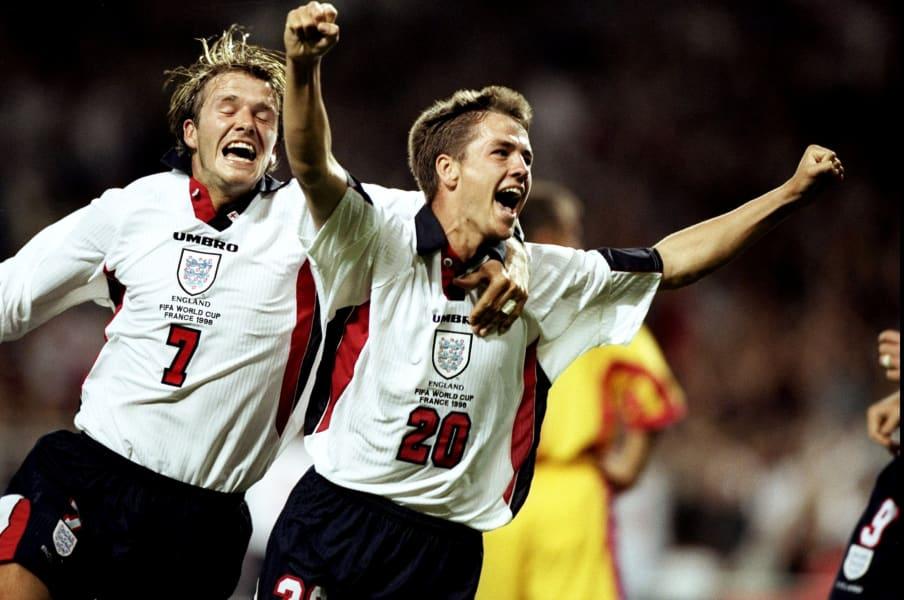 Michael Owen goal england