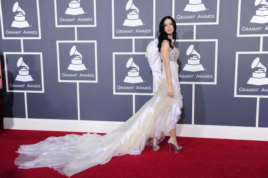 grammy fashion Katy Perry 2011