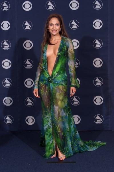 grammy fashion Jennifer Lopez 2000