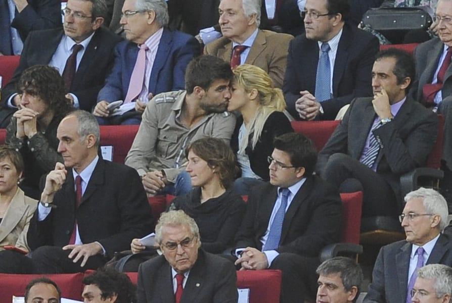 power couples Shakira and Gerard Pique