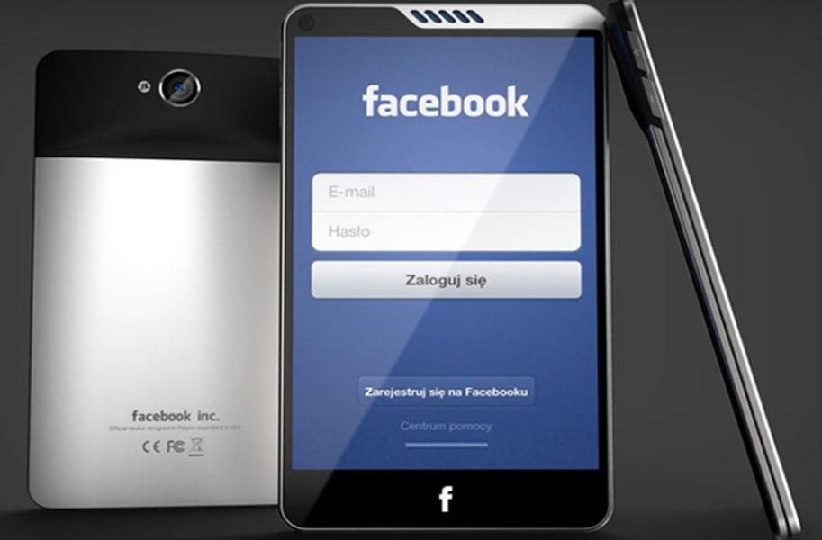 concept phone facebook