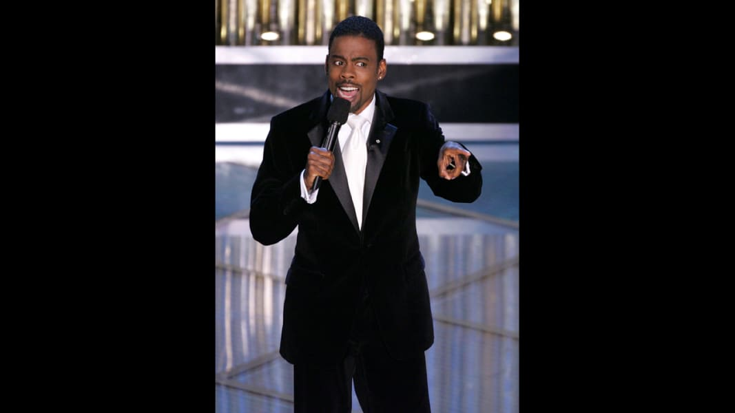 oscar hosts Chris Rock