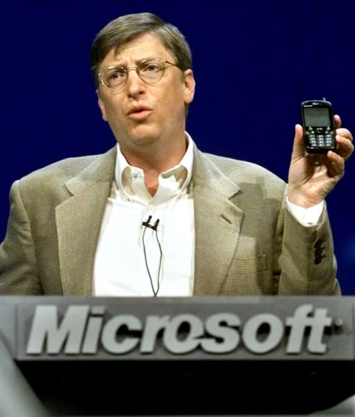Bill Gates old phone