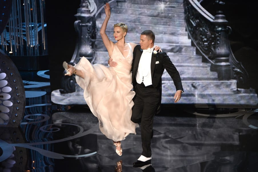 oscar photos Charlize Theron Channing Tatum