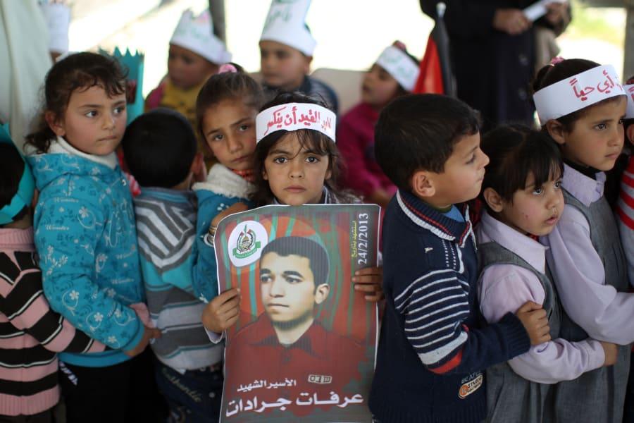 Prisoner protest Gaza