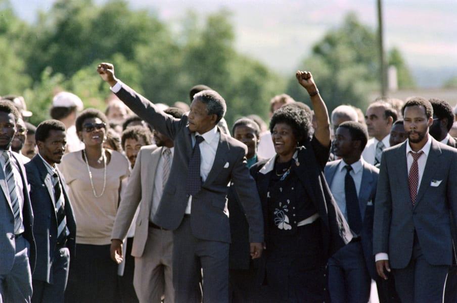 Nelson Mandela release