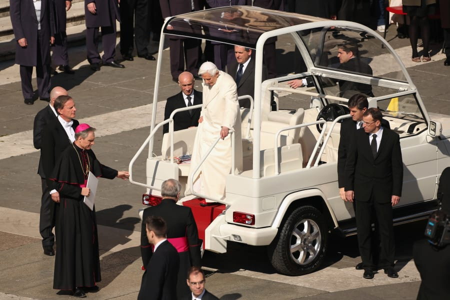 Popemobile 2013