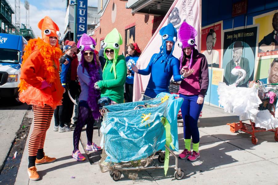 crazy races Boston Urban Iditarod