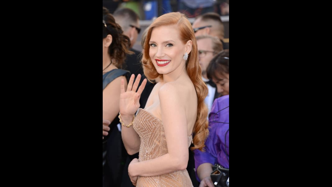 red Jessica Chastain