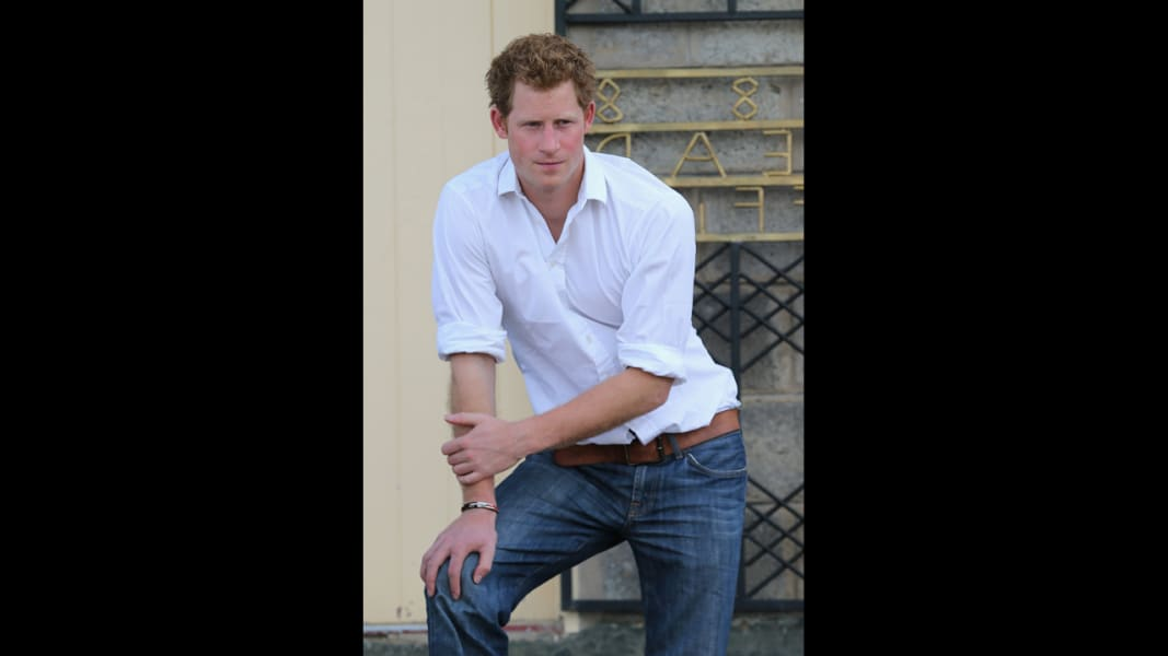red Prince Harry