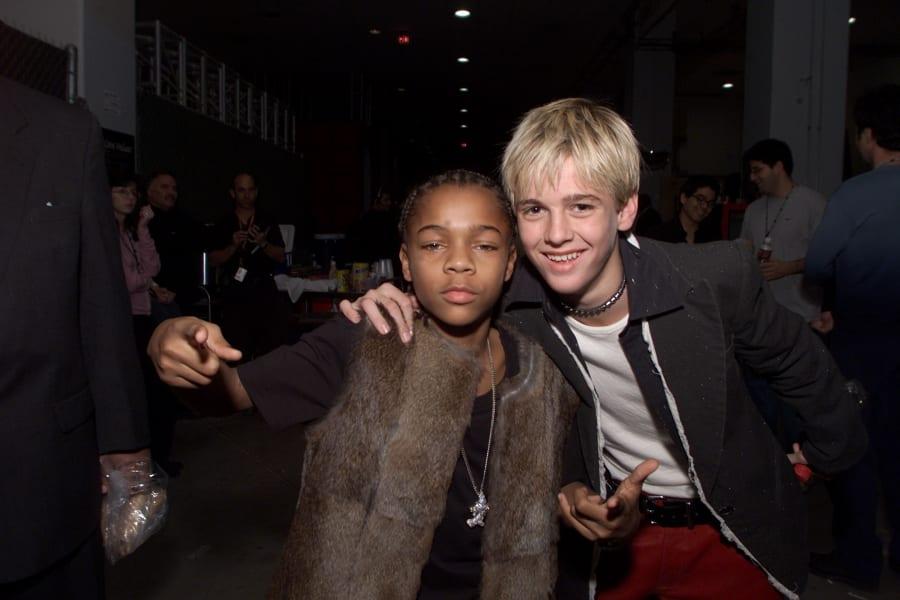 teen idols Lil' Bow Wow and Aaron Carter