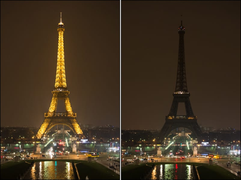 Paris Earth Hour