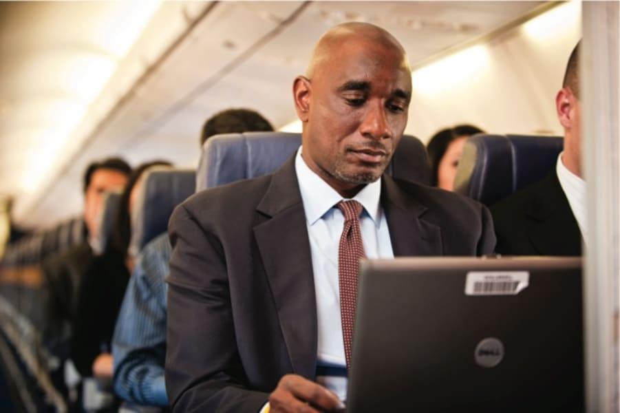 Business traveller IFE Southwest