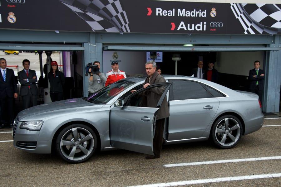 football cars mourinho