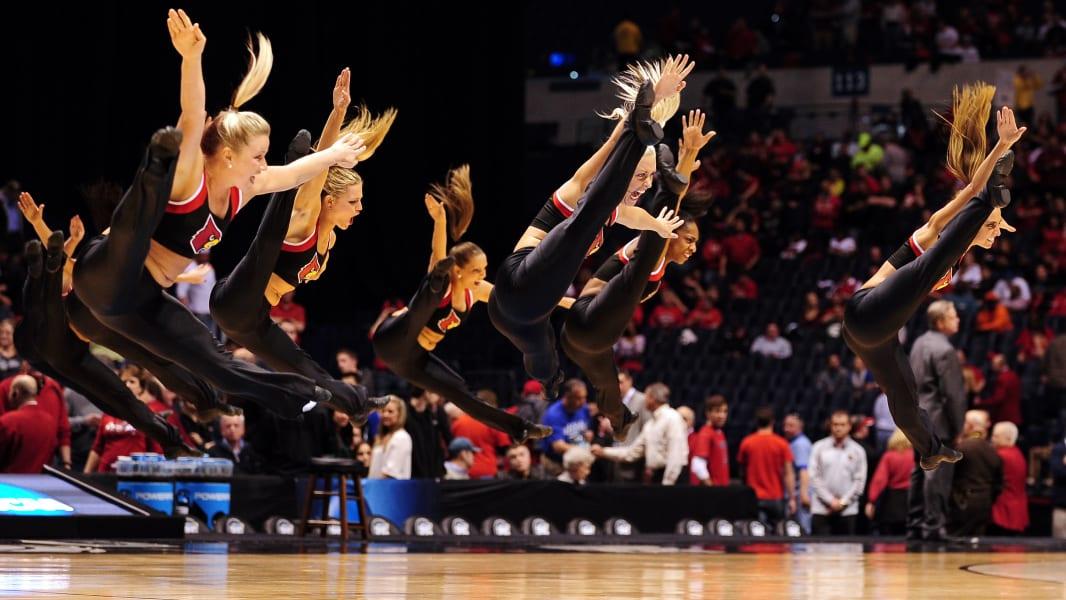 11 cheerleaders