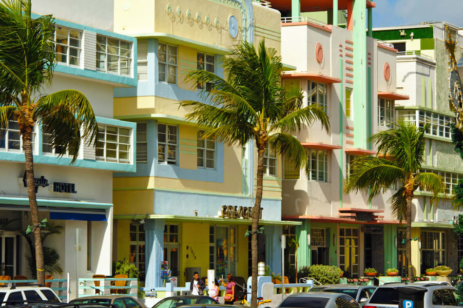 colorful cities south beach miami