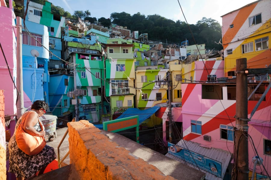 colorful cities rio