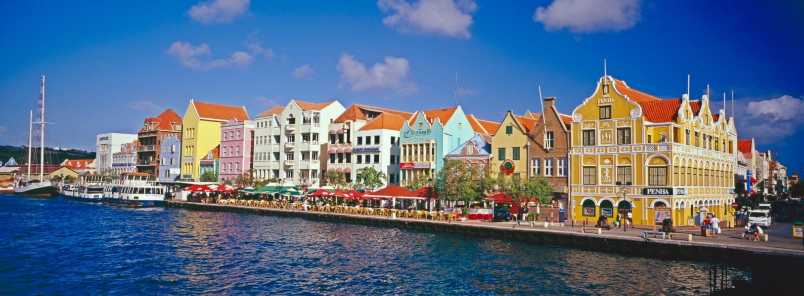 colorful cities Curacao