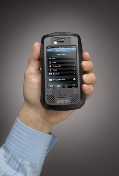 biometric scanning iPhone tool