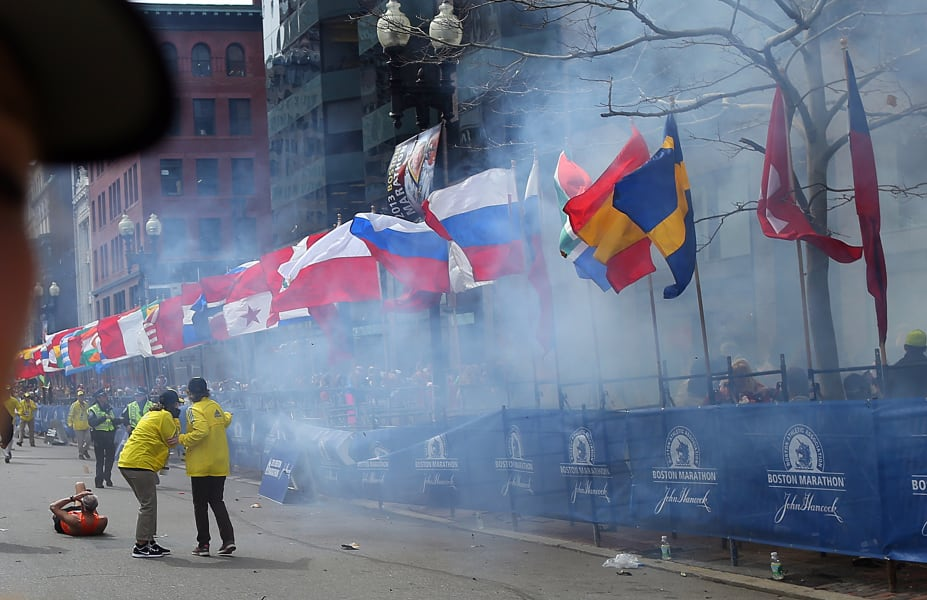 45 boston marathon explosion