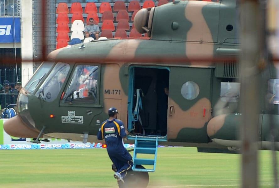 Sport Sri Lanka helicopter