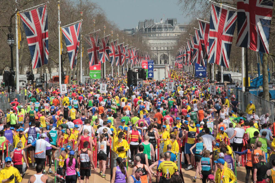the mall london marathon
