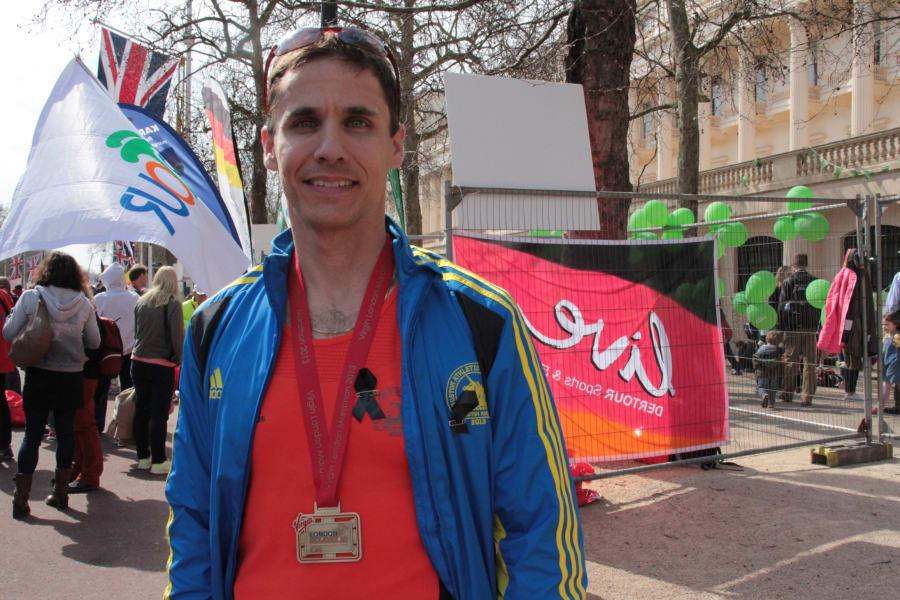 boston runner London marathon
