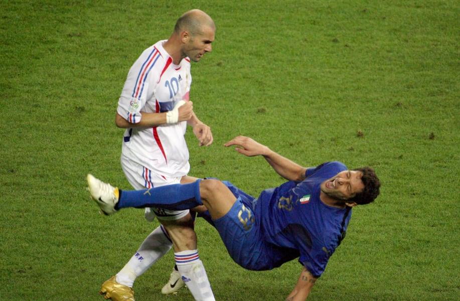 zidane headbutt 2006