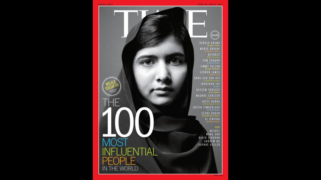 malala time 100 cover