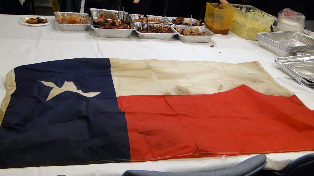 texas flag bbq Boston hospital