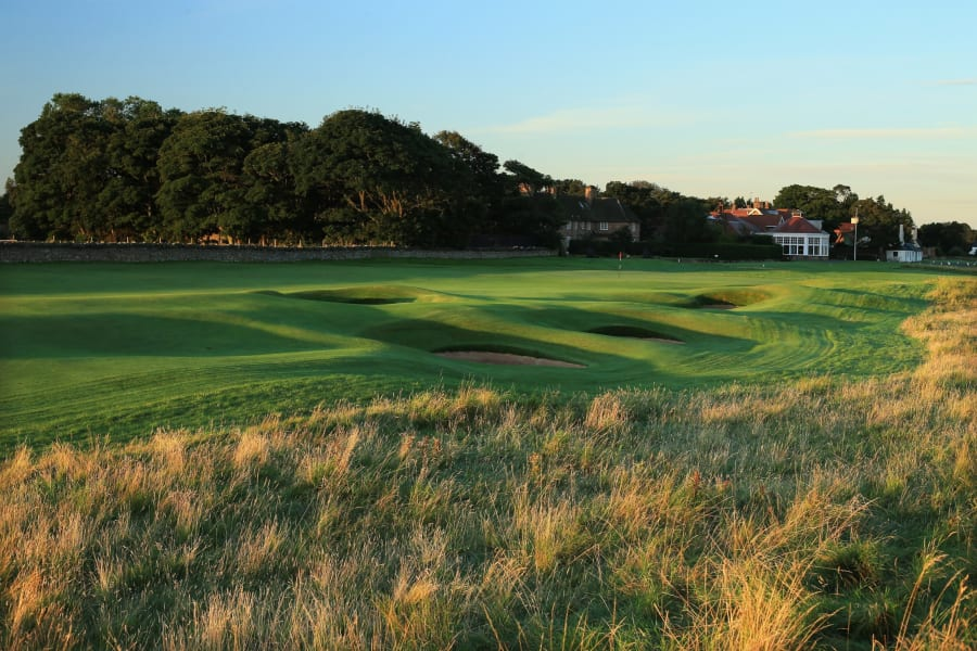 ninth hole muirfield