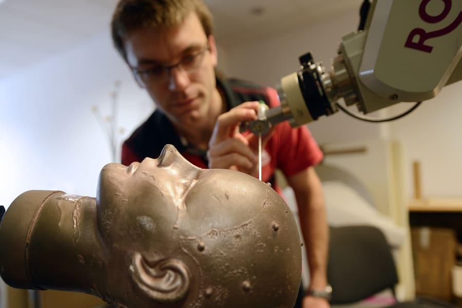 memory implant brain surgery robot