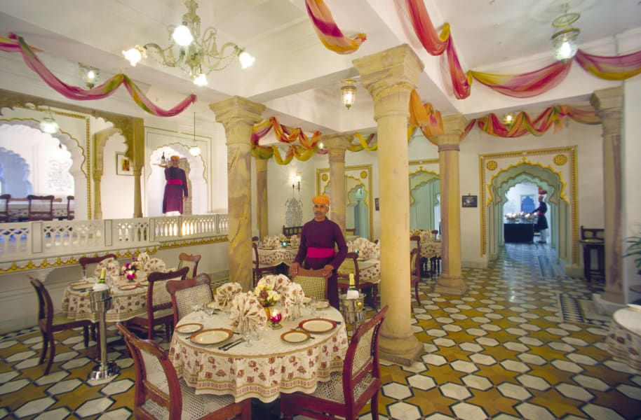 Deogarh Mahal dining