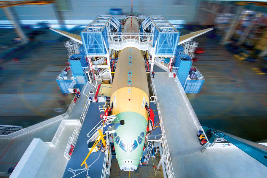 airbus a350 factory