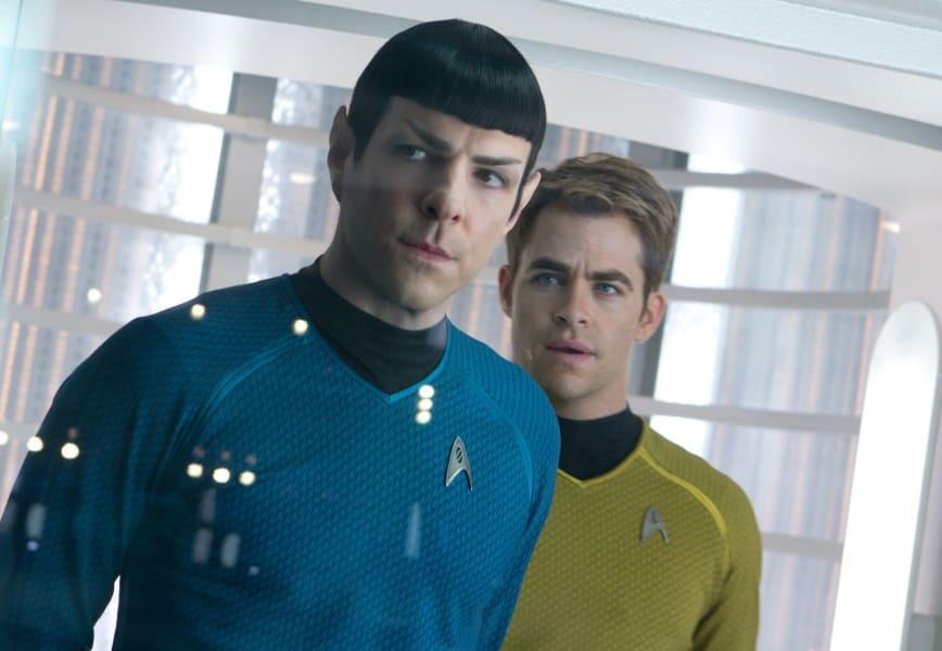 Star Trek Into Darkness Quinto Pine