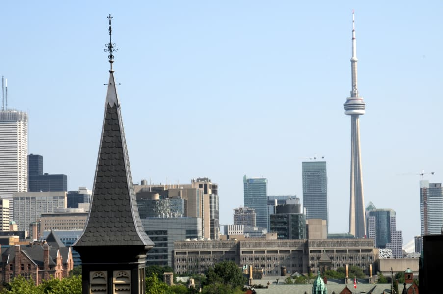 Toronto Skyline shot