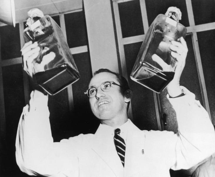 Jonas Salk lifeswork polio