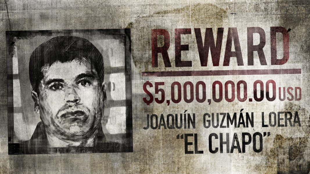 El Chapo Guzman illustration